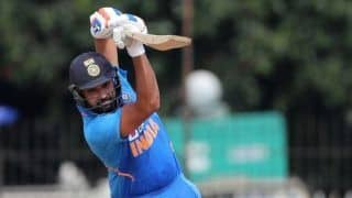 Rohit Sharma Creates Record, Becomes Fastest to Reach 7000 ODI Runs as Opener During Second ODI at Rajkot Versus Australia